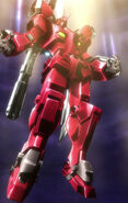 Gundam Amazing Red Warrior Descending