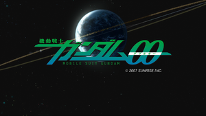 Gundam 00 title