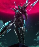 Transient Gundam Standing