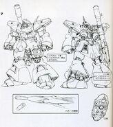 AMX-009 - Dreissen - Giant Bazooka