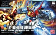 HG Box Art Try Burning Gundam