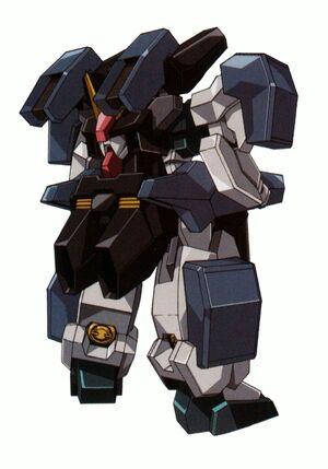 GN-008GNHW-B - Seravee Gundam GNHW-B - Back View