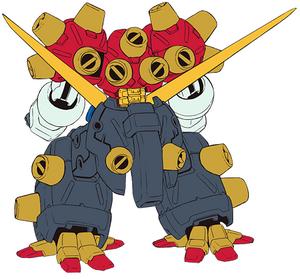 JDG-00X Devil Gundam rear