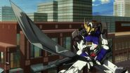 ASW-G-08 Gundam Barbatos (6th Form) (Episode 25) - Long Sword (2)