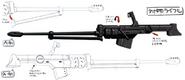 Gundam astaroth antimateriel rifle