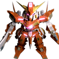 Unit a gundam throne zwei