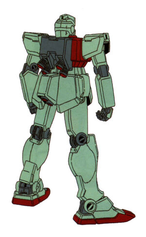 RGM-79(GM EARLY TYPE) back