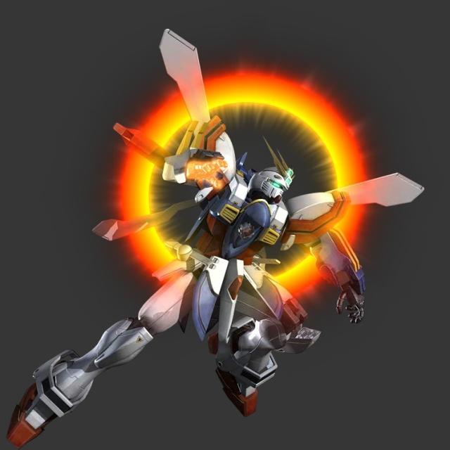 God Gundam  Hyper Mode  in  G Gundam Burning Gundam Hyper Mode