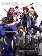 Gundam 00P Gundam Plutone