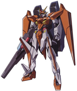 GN-007GNHW-M - Arios Gundam GNHW-M - Front View