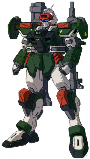 GATA-01E2 - Buster Dagger - Front View