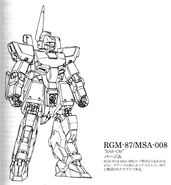 MSA-008 (RGM-87) Bar-GM Data and Design