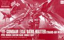 HG Gundam Exia Dark Matter Trans-Am Mode