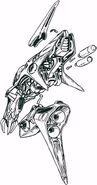 ABFS-RR-01S Messala Dinofaust Jupiter Separated Body