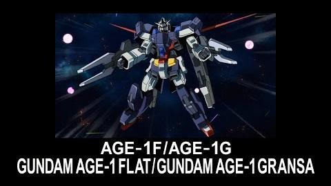 MSAG15 GUNDAM AGE-1 FLAT (from Mobile Suit Gundam AGE)
