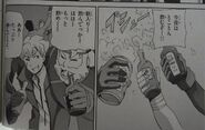 Raddock Horn in manga Memories of Sid