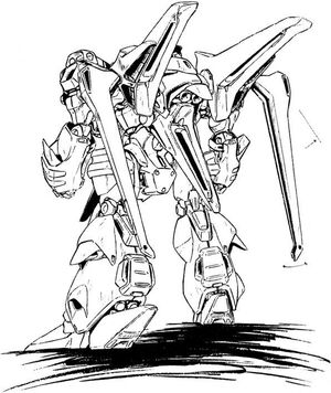 SX-NFR-01 SES Tyrant Sword Agles Back View