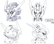 Gundam astaroth head