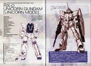 RX-0 Unicorn Gundam-U - SpecTechDetailDesign