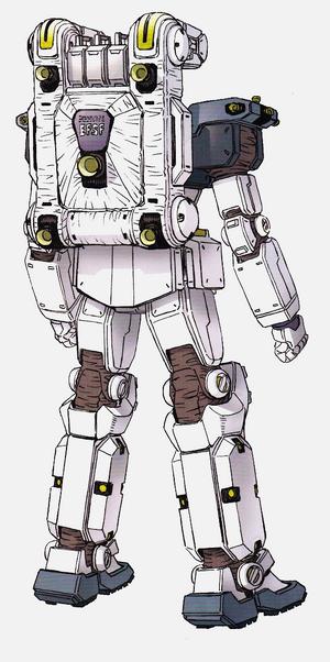 RGM-79 GM (GM204F) back