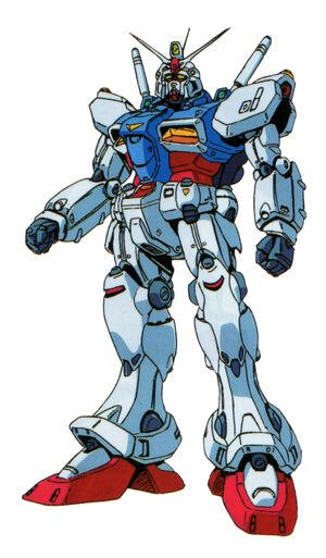 RX78GP01 GundamZephyranthes - Front View