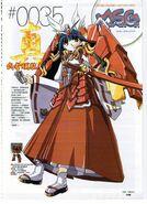 Musha Gundam - MS Girl