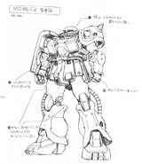 Katoki Hajime MG FZ Lineart
