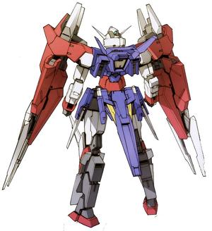 AGE-2DC Gundam AGE-2 Double Blade Rear