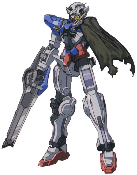 GN-001RE Exia Repair (Gundam 00 Forums)