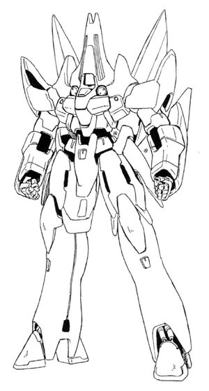 OZ-12SMS Taurus Front View Lineart