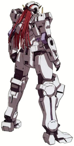 GN-004 - Gundam Nadleeh - Back View