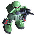 Unit cr zaku ii magella cannon