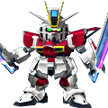 Unit as sword impulse gundam