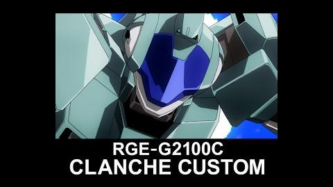 MSAG29 CLANCHE CUSTOM (from Mobile Suit Gundam AGE)