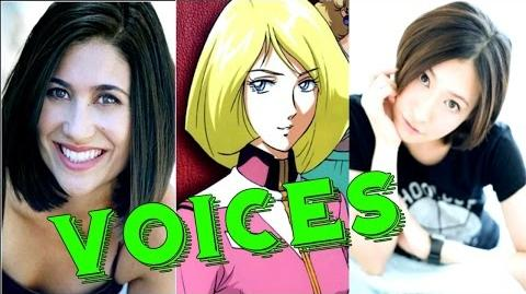 Mobile Suit Gundam The Origin (Eng & Jap) Voices Actors Αctress Characters ✔
