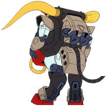 GF13-045NSP Matador Gundam Rear