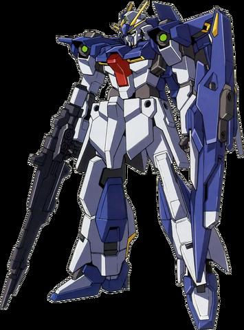 File:LGZ-91 Lightning Gundam (Rifle and Shield) - Front.png