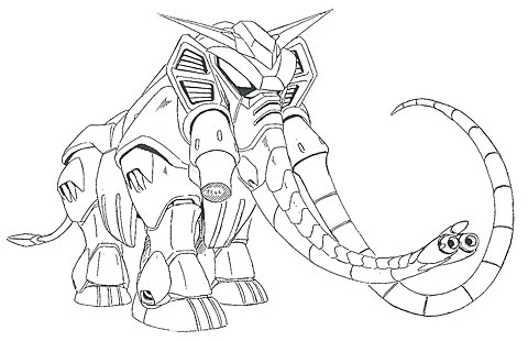 GF11-042NSB Mammoth Gundam