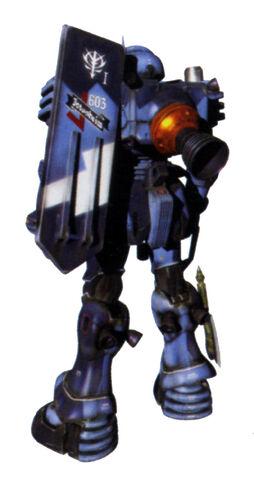 Commander type - Rear