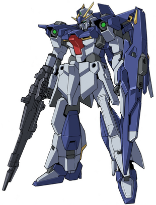 Front(w/ Beam Rifle&Shield)