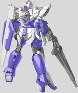 CG 1 Gundam Rear