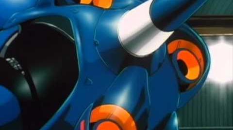 012 MS-18E Kaempfer (from Mobile Suit Gundam 0080)