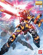 Mg rx-0 unicorn gundam 02 banshee boxart