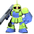 Unit cr zaku i commander