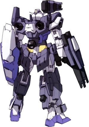 AGE-1AJ2 Gundam AGE-1 Assault Jacket 02 - Rear