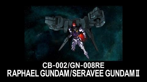 MS0W04 RAPHAEL GUNDAM (from Mobile Suit Gundam 00 Theatrical Edition)