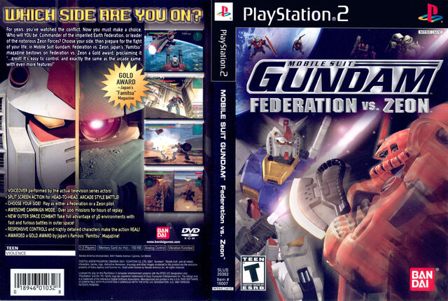 File:Mobile Suit Gundam Federation Vs Zeon USA.jpg