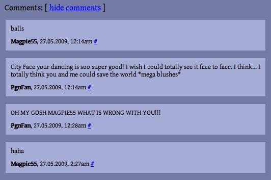 Cityface comments 8