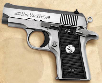 The Colt Mustang .380 Pistol