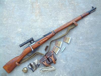 Mosin Nagant Rifle Exploded Views and Disassembly
